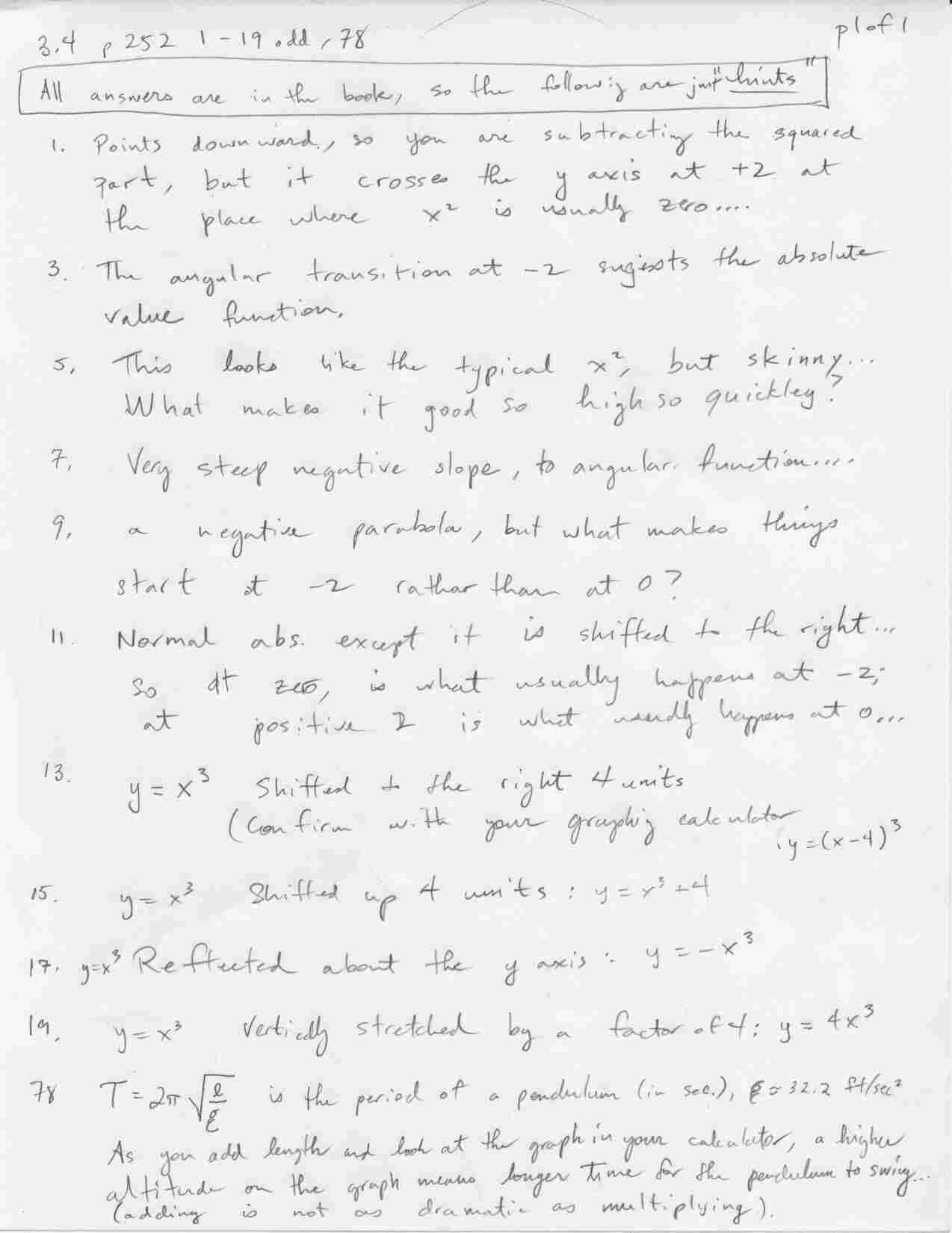 hw3 4p1 hon alg ii trig on inverse functions worksheet answers